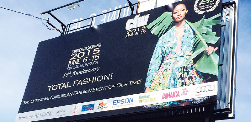 Caribbean Fashion Week dresses with Epson technology 0