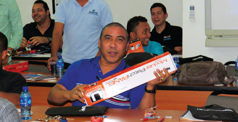 Intcomex Panama continua celebrando con exito sus capacitaciones al canal 2