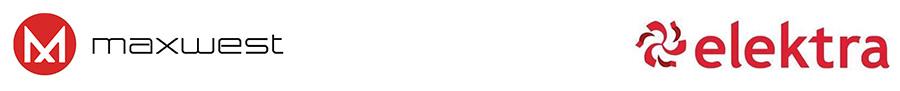 Elektra y Maxwest logos