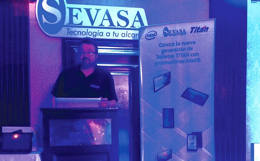 Exitoso Tour de Presentacion de la linea de tabletas Titan junto a Intel - Sevasa 1
