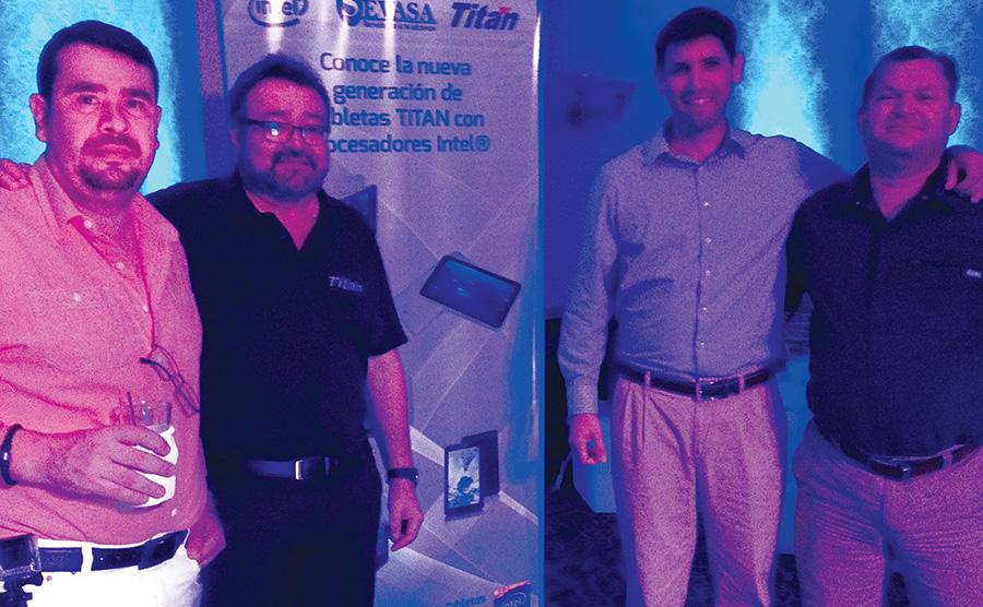 Exitoso Tour de Presentacion de la linea de tabletas Titan junto a Intel - Sevasa 2