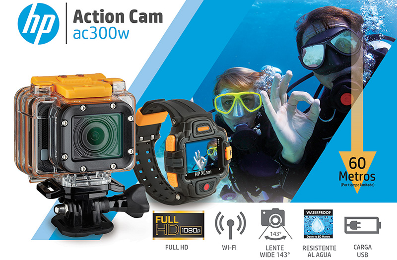 HP ACTION CAM ac300w - 1