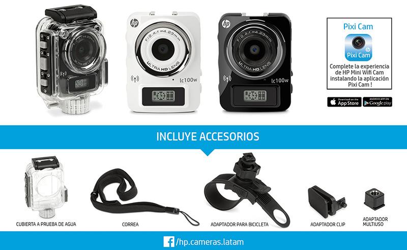 HP LIFE CAM lc100w - 2 accesorios