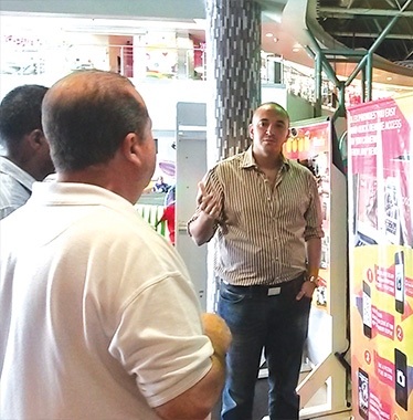 OLEX install its product to Trinidad and Tobago 2
