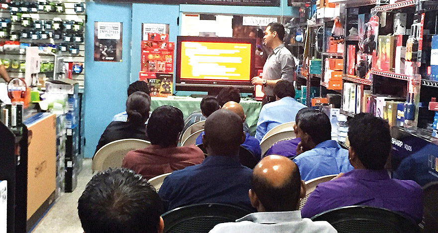 OLEX install its product to Trinidad and Tobago