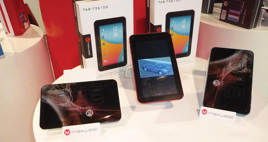 Maxmobile dijo presente junto a Maxwest en el CES 2016 - Tablets