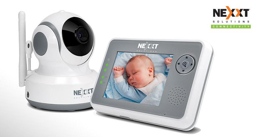 Nexxt Solutions presenta su nuevo monitor para Bebes RooMate
