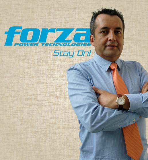 Carlos Avendaño Gerente de Ventas Regional Forza Power Technologies