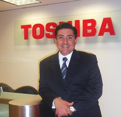 Foto Edgar Gonzalez, VP/GM America Latina, Toshiba America Information Systems