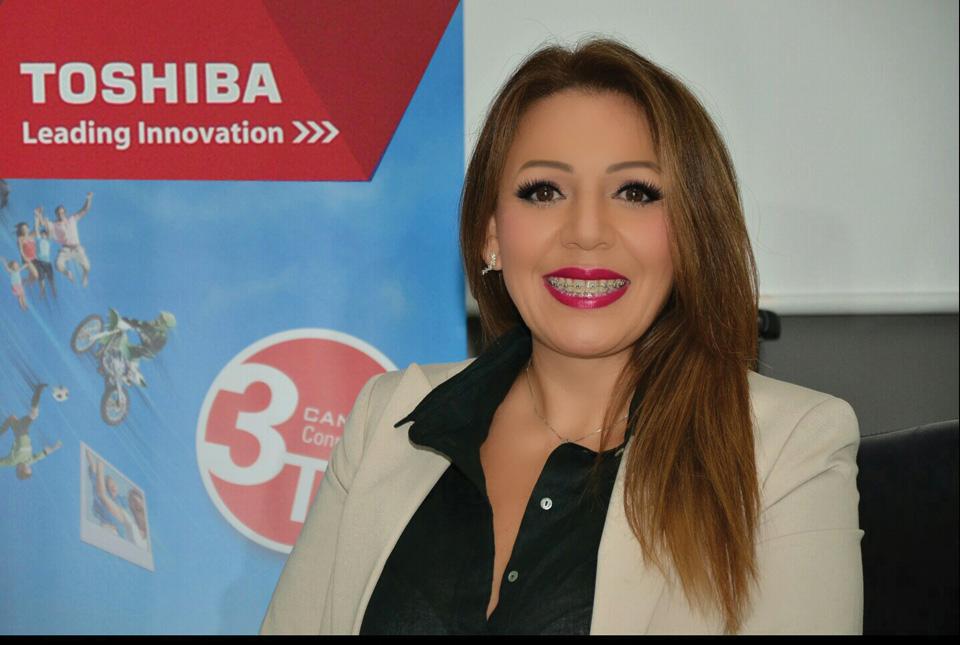 Foto Sandra Isabela Mendoza,  Branded Storage Sales Manager,  Toshiba America Information Systems