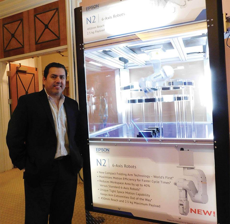 Abelicio Quintero, Sales Manager, US Exporter & Caribbean de Epson