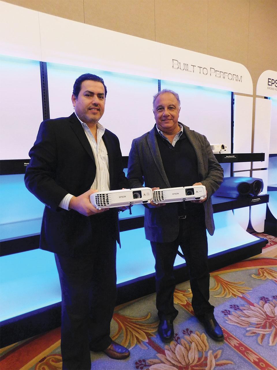 Abelicio Quintero y Eduardo Prepelitchi de Rainbow Computers
