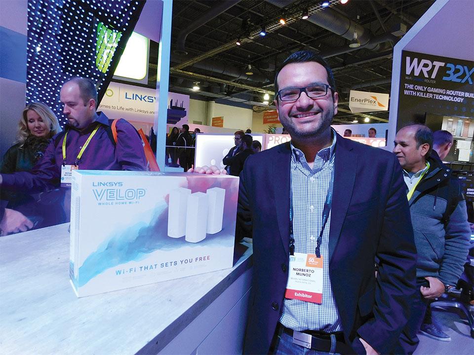 Norberto Munóz, Account Manager Miami, Centroamérica, Caribe Belkin International