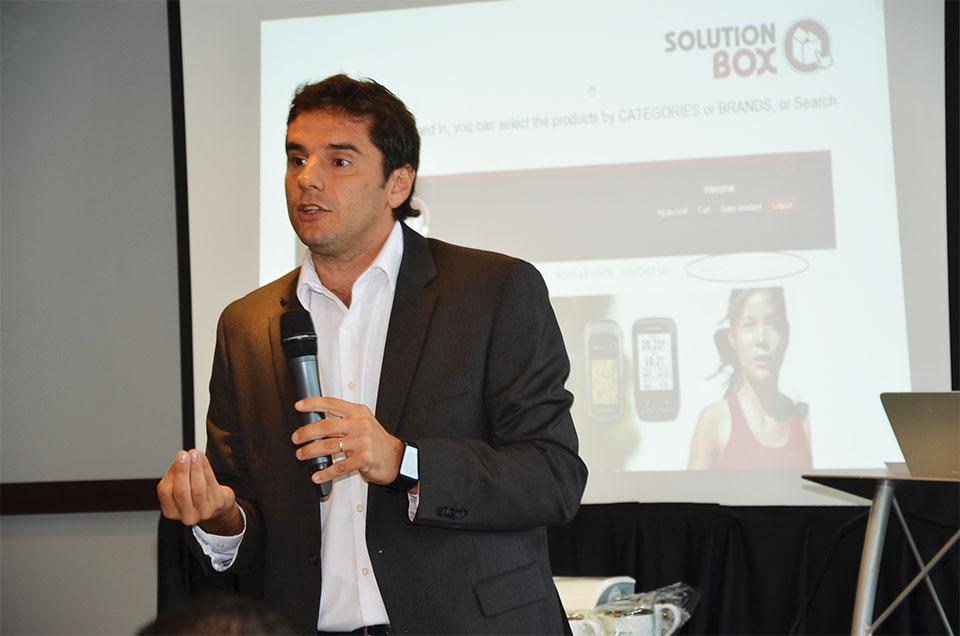Claudio Muñoz, director comercial de Solution Box USA