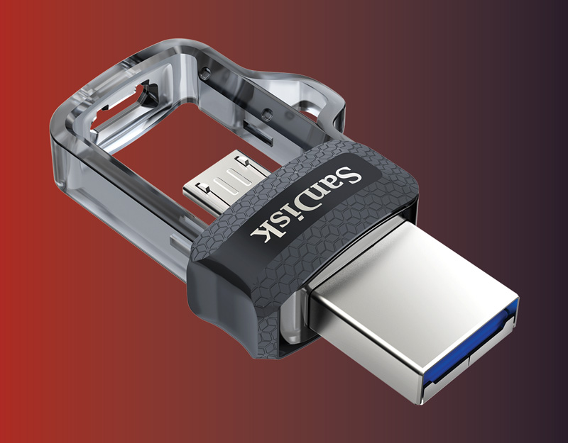 SanDisk Ultra® Dual Drive USB 3.0