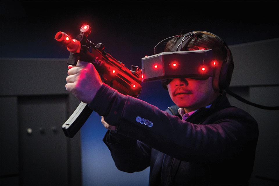 Auriculares de realidad virtual StarVR