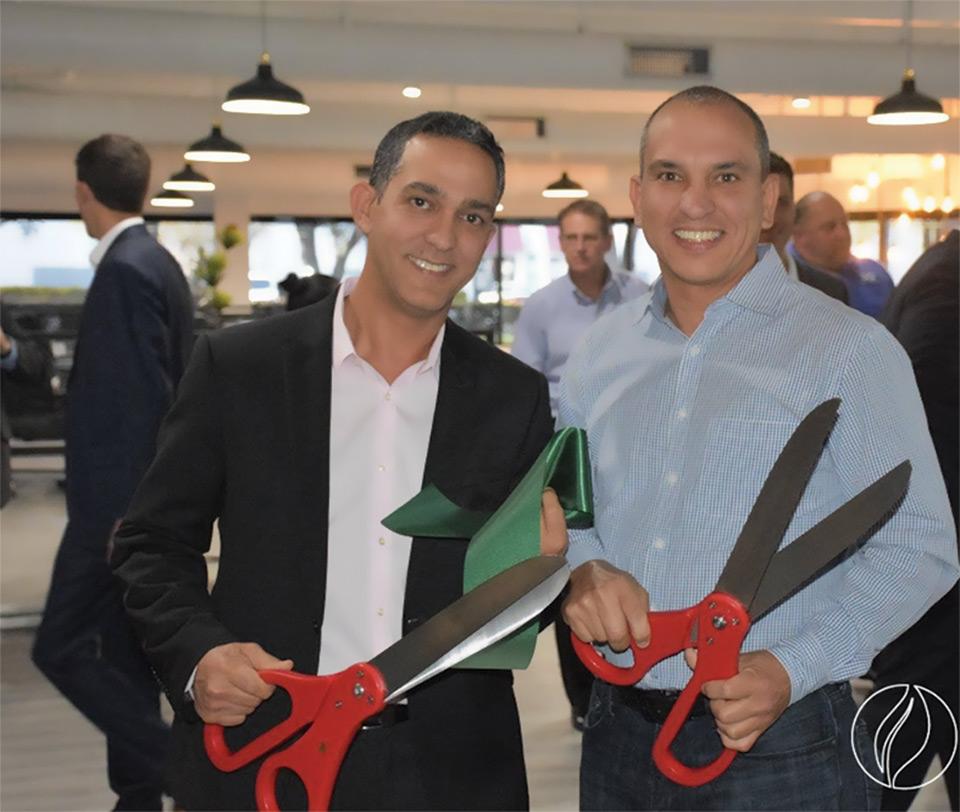 Alfredo y Ever Milanes, Fundadores de EcoPrintQ